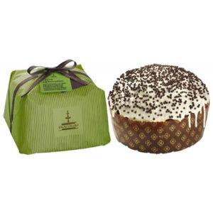 Pera e cioccolato pannettone
