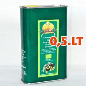 Olio extravergine d'oliva 0.5 litri (Bergi)